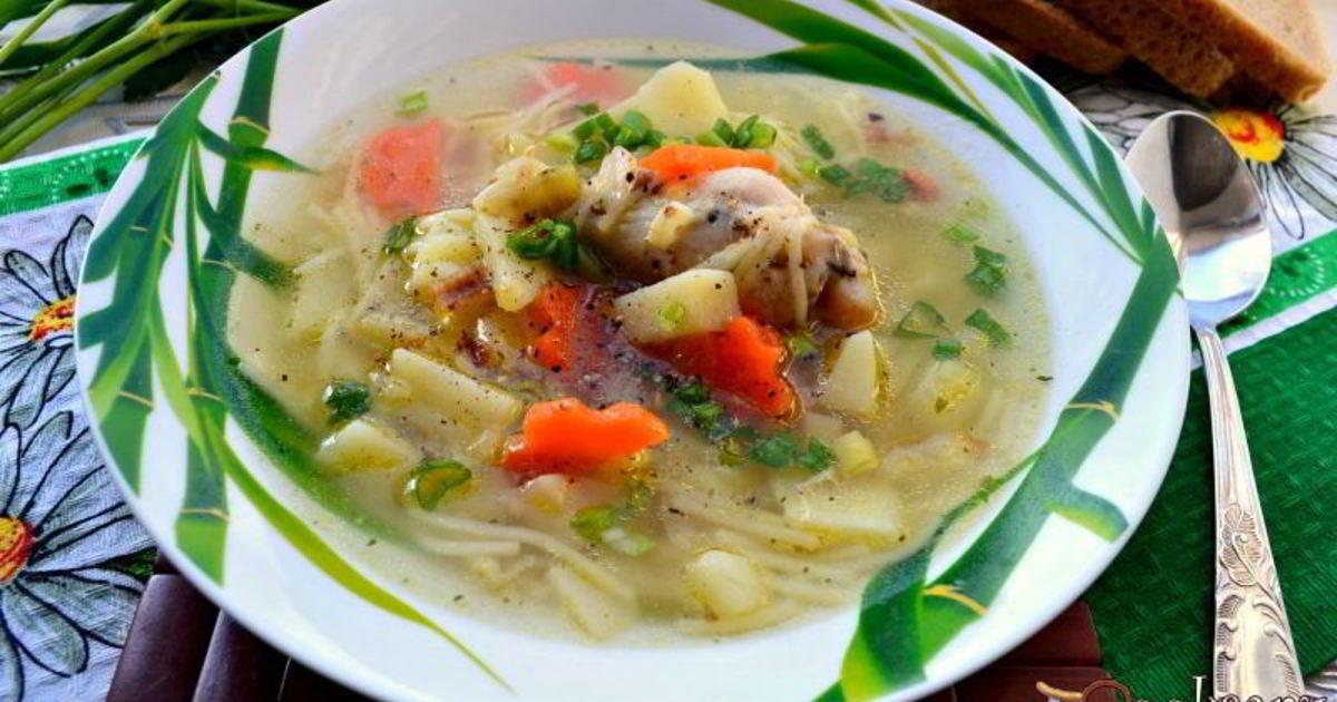 суп из курицы рецепт с фото пошагово тех