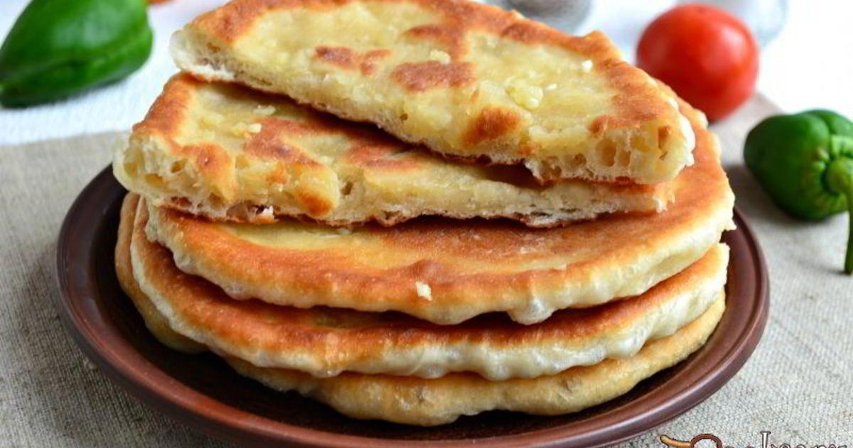 чесночные лепешки на сковороде рецепт с фото такое евреи вопрос